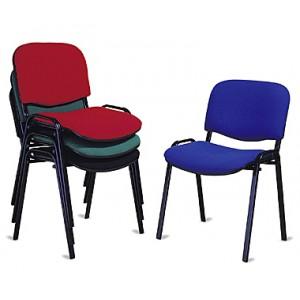 sedia fissa tessuto il pianeta ufficio